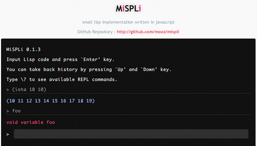 mispli screenshot